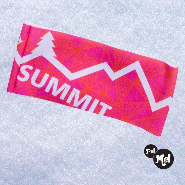 Bandeau chaud original coloré pour le trail, running, vélo, ski de randonnée. Fabriqué en Savoie, France.