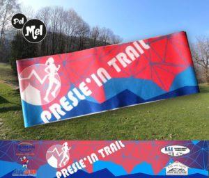 Bandeau fin publicitaire entièrement personnalisé. Fabriqué en Savoie,France.