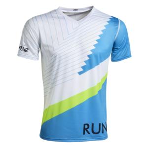 T-shirt technique pour le trail, le running, personnalisé. Fabriqué en Savoie, France.