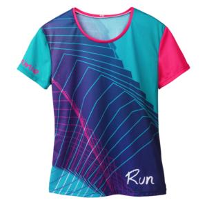 T-shirt technique pour le trail, le running, personnalisé.