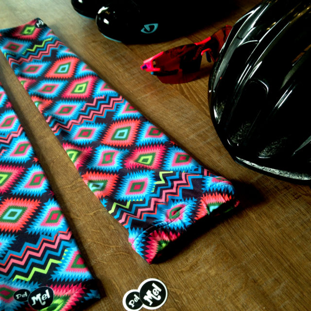 Manchettes colorées pour le trail, le vélo.