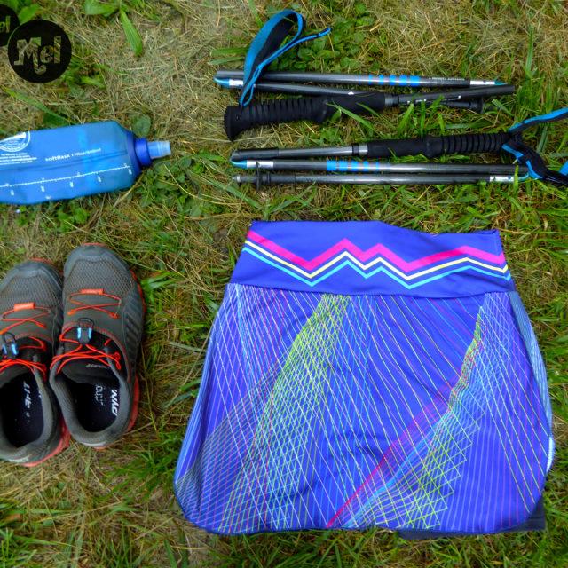 Jupe-short trail running